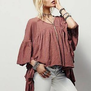 Rock Etiquette Cotton Boho Free People Shirt